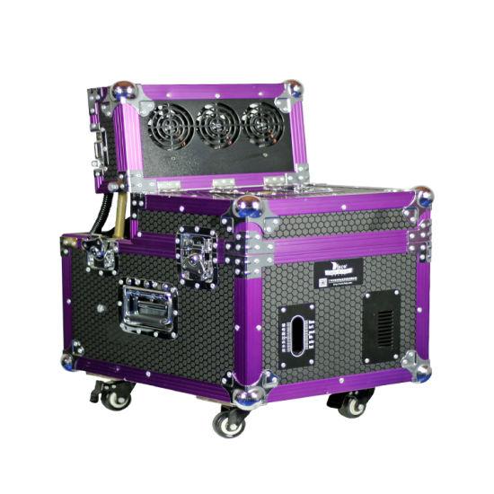 Stage Effect Oil Based 650W Haze Machine Popular Professional Haze Machine with DMX Control and Case 6, 0000 Cfm Output
