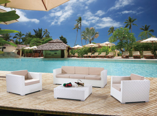 Garden Patio Wicker / Rattan Sofa Set - Outdoor Furniture (LN-3025) pictures & photos