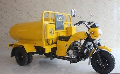 Keke Water Tank Tricycle Rickshaw Cargo Loader Van Ambualnce