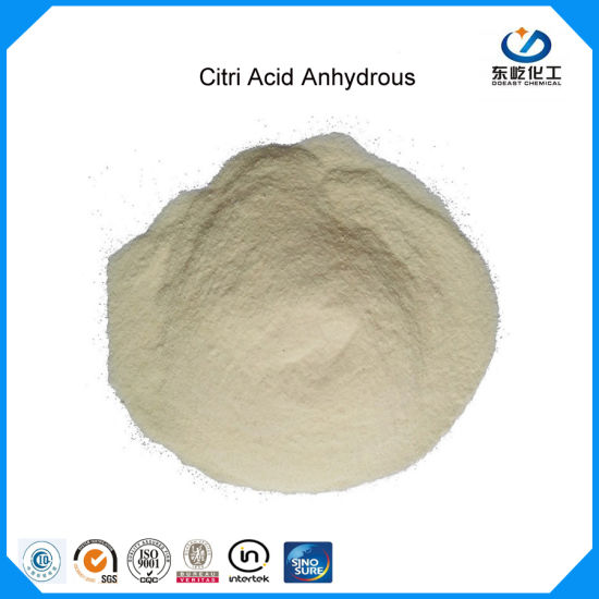 Citric Acid Anhydrous China Factory Citric Acid (Food additive BP/USP/FCC)
