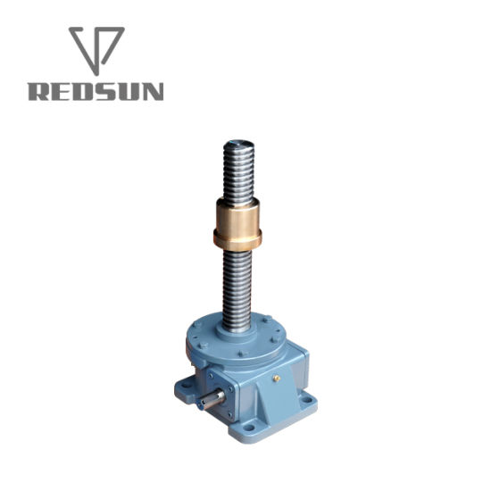 Self-Locking Jwm Series Worm Gear Screw Jack for Chemical Machine pictures & photos