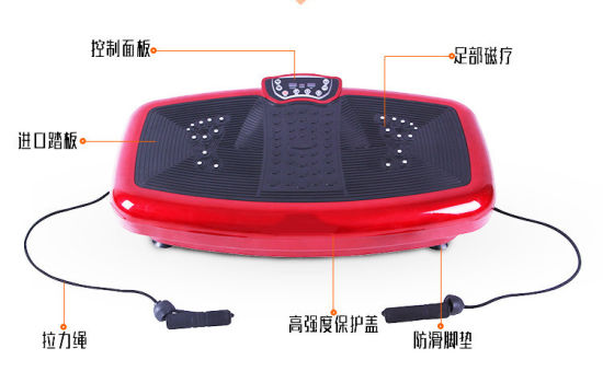 Vibration Plate Body Slimmer Machine Crazy Fit Massage pictures & photos