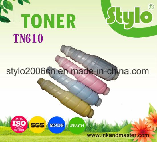 Tn610 Color Copier Toner Cartridge for Konica Minolta Bizhub C6500