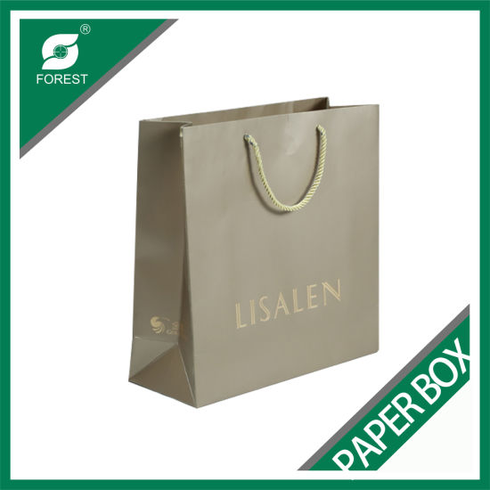 Colorful Printed Kraft Paper Bag with Glossy Lamination