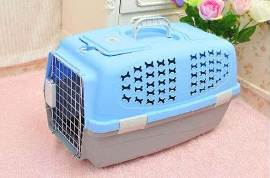 Plastic Flight Case Pet Cage & Carrier for Dog & Cat (KD0001) pictures & photos