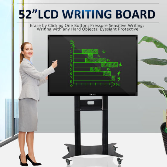 "Eco Friendly 52"" LCD Teaching Board Liquid Crystal E-Writer for Classroom pictures & photos"