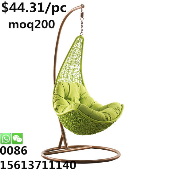 Leisure Outdoor Balcony Living Room Bedroom Garden Hotel Armless Maple Leaf Hanging Chair