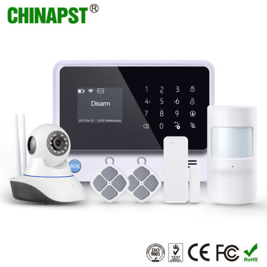 China APP GSM WiFi Wireless Alarm with IP Camera Optional
