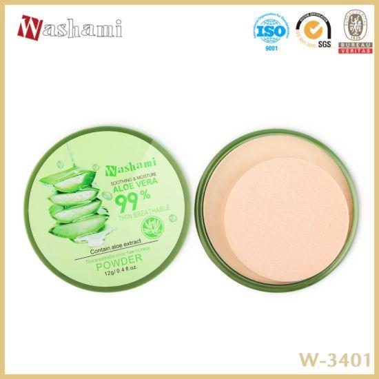 Washami Aloe Vera Cosmetics Face Makeup Compact Powder