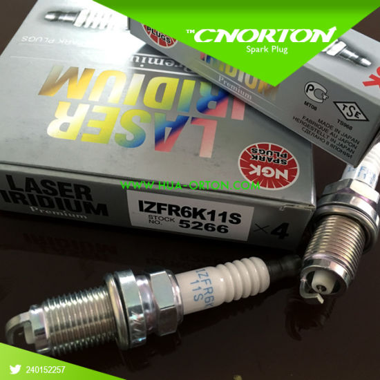 Ngk Laser Iridium Spark Plug Set OEM Upgrade Izfr6k-11s Izfr6k11s 5266 pictures & photos