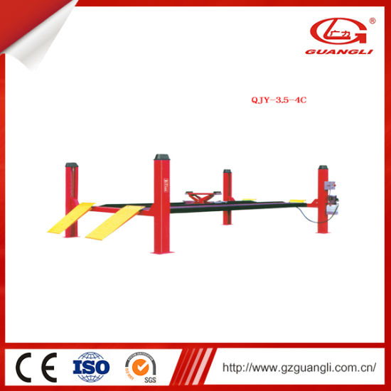 Professional and Reliable Four Post Lift (QJY-3.5-4C)