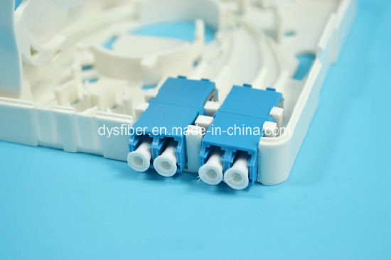FTTH Termination Box 2 Port, 2xsc Simplex or 2X LC Duplex Adapter pictures & photos