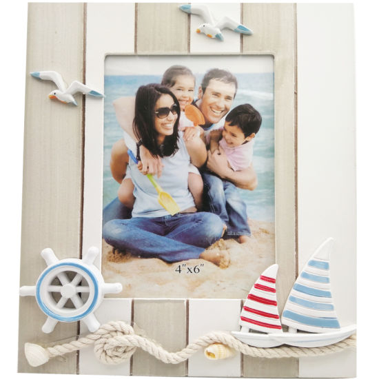 Marine Series of Creatively Decorated Solid Wood Photo Frames pictures & photos