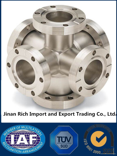 Professional Customized CNC Machining Turning Carbon Steel Stainless Steel Forging Pipe Fitting Flanges