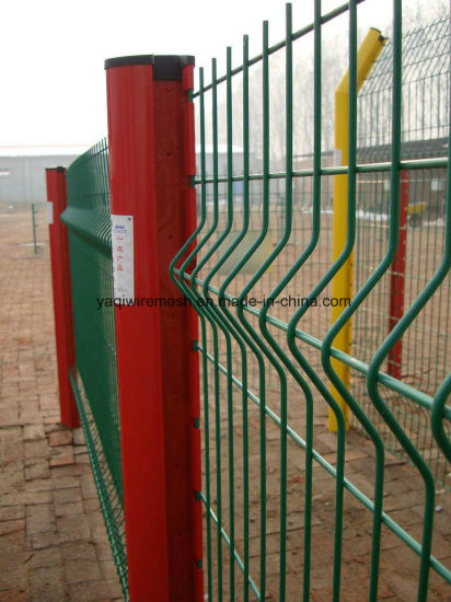 4 mm - 5mm PVC Coated Galvanized Wire Mesh Fence Security Fence 358 Fence China Anping Factory