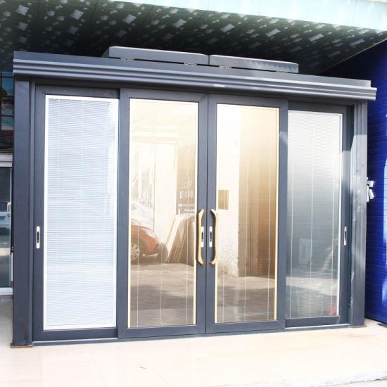 Aluminium Window and Door Manufacture Super Slim Frame Sliding Door