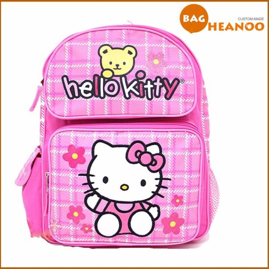 486e17fee3 Pink Cute School Bag for Girl Hello Kitty Cartoon Backpack pictures   photos