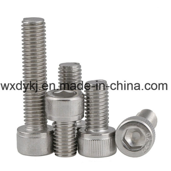 DIN 912 Stainless Steel 316 Socket Cap Screw pictures & photos