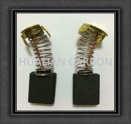 Wholesale 6.5X13.5X16mm Mini Electric D252 Graphite Carbon Brush/CB-155 Fan Blower Carbon Brush Replacement of CB-154