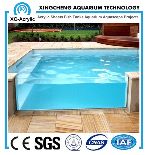 China Customed Size And Transparent Acrylic Panel Used For Swimming Pool China Acrylic Panel