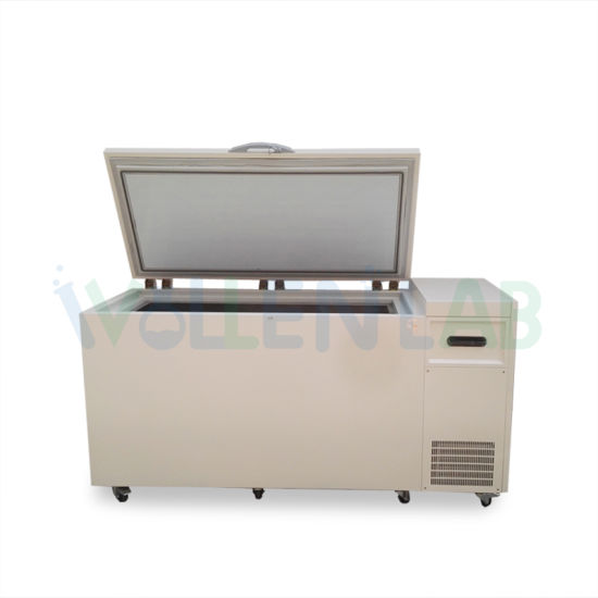 Top Door Commercial Stainless Steel Pharmaceutical Vaccine Refrigerator Quick Chest Freezer