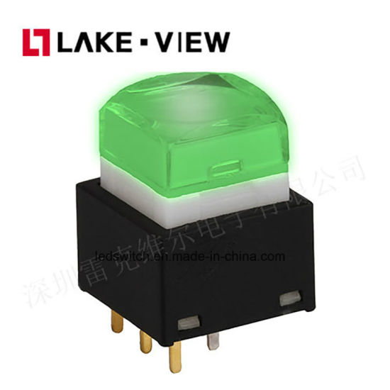 Printing Custom Audio Video Processor LED RGB Colors Options Push Button Micro Switch pictures & photos