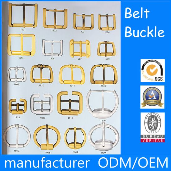 OEM Custom Metal Hardwares Accessories for Bags, Shoes and Garments