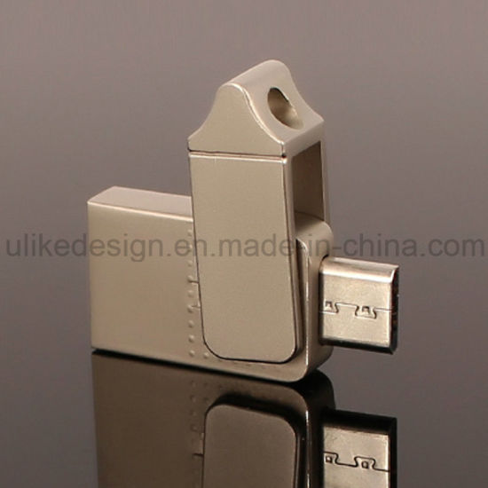 Type -C Wholesale Metal Swivel/ Twist OTG USB Flash Drive (UL-OTG005) pictures & photos