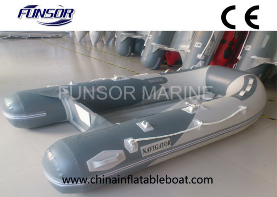 PVC Inflatable Boat with Plywood Floor (FWS-D230) pictures & photos