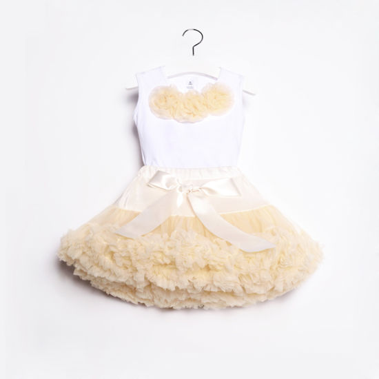 Children Clothes Factory OEM Tutu Skirt Party Dress Set pictures & photos