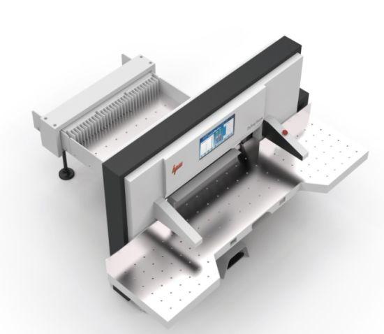 Program Control Heavy Duty Paper Cutting Machine for Printing (HPM137M15)