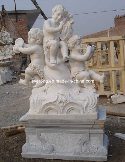 Outdoor Marble Carving Stone Statue Granite Sculpture for Garden Decoration