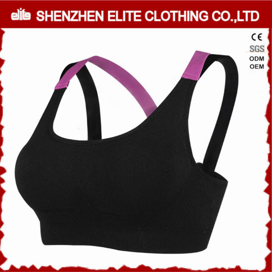 ef4034f17 Latest Cheap Black Fashionable Sports Bra Wholesale (ELTSBI-8) pictures    photos