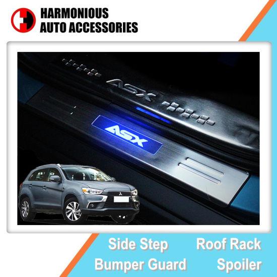 For Ford Explorer 2016 2017 Steel Rear Bumper Protector Scuff Plate Guards Sill