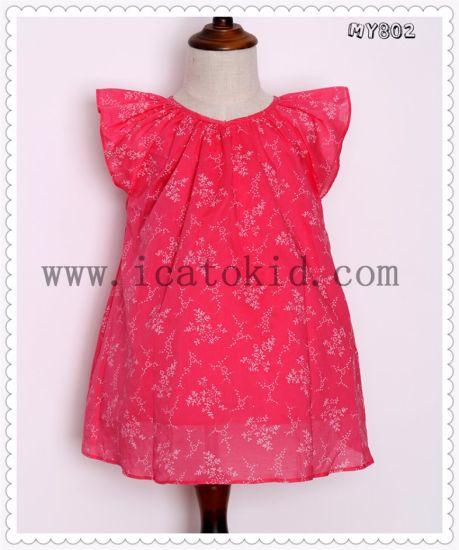 f567500342c3 China 100% Plain Newest Wholesale Baby Girl Cotton Summer Dresses ...