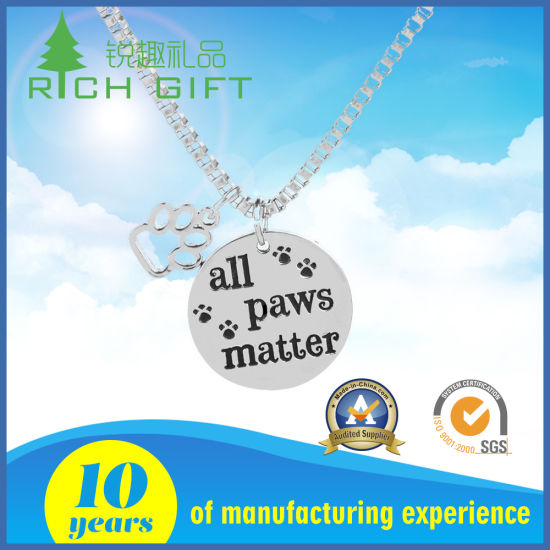 Stamp Silver Metal Stainless Steel Dog Tag With Logo Engraved As Souvenir Gifts