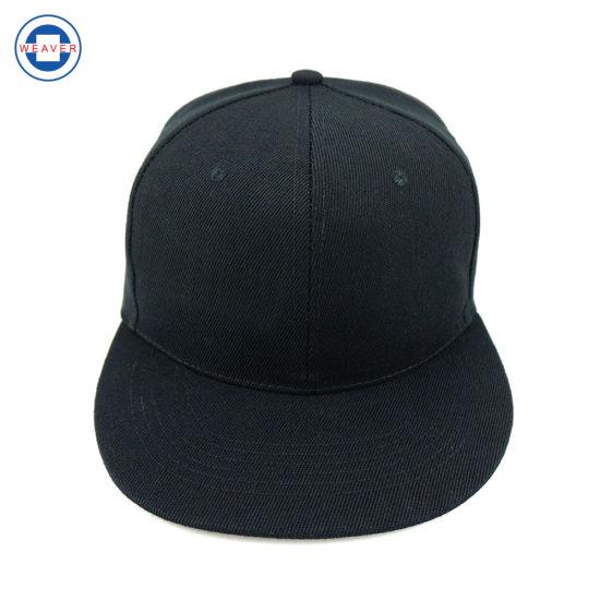 China Wholesale Cheap Plain Black 6 Panel Blank Snapback Hat - China ... 180796b64d7
