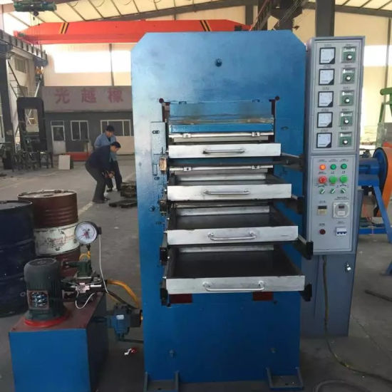 Rubber Product Making Equipment / Rubber Floor Tile Making Machine