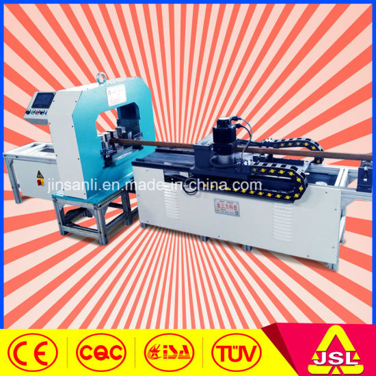 CNC Round Pipe Punching Cutting Machine Holes pictures & photos