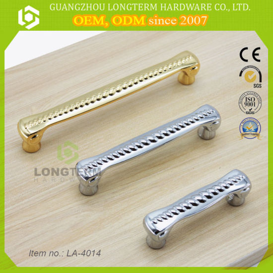 China Hot And Fancy Gold Polish Brass Cabinet Door Pulls Handles