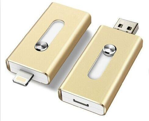 New 8/16/32/64GB USB2.0 Flash Drive U Disk Memory Storage for I-Phone I-Pad pictures & photos
