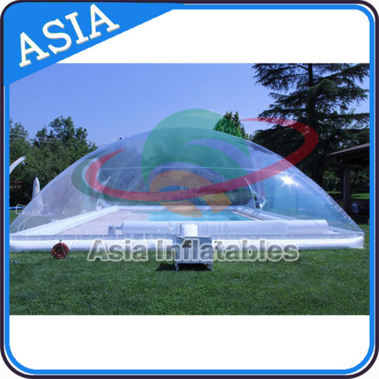 Outdoor Inflatable Swimming Pool Cover, Water Pool Bubble Cover