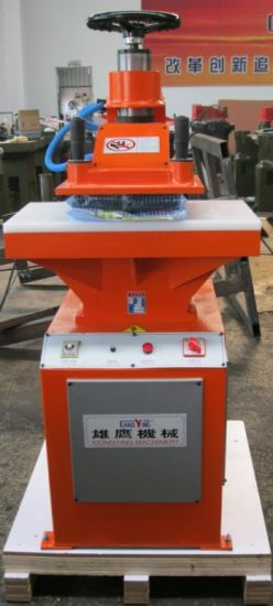 Xyj-2/10 Small Hydraulic Press Leather Shoe Making Machine pictures & photos