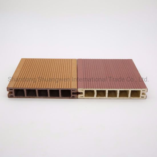 Exterior Co-Extruded WPC Materials Decking Flooring for Decoration