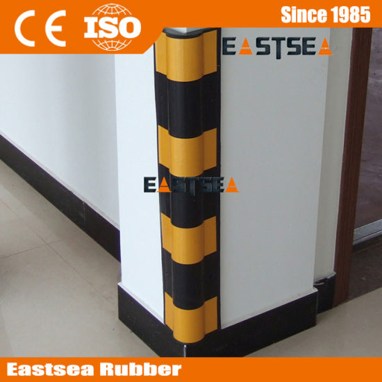 Heavy Duty Round Angle Rubber Wall Corner Guards pictures & photos