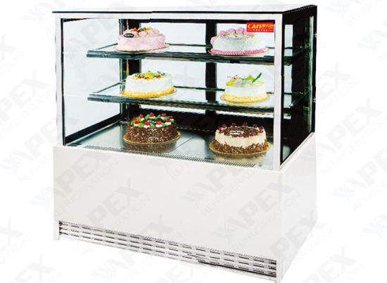 Commercial Two Layers Right Angle Cake Showcase Refrigerator with Ce, CB pictures & photos