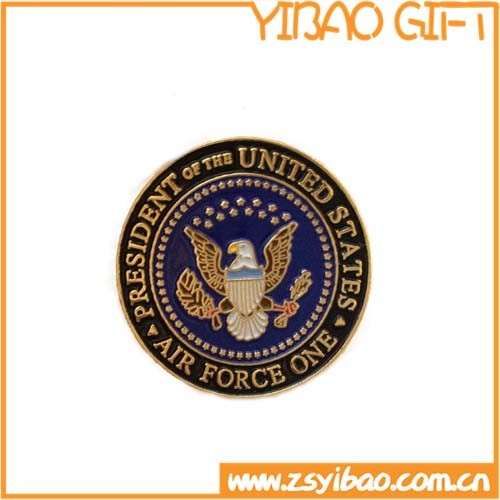 Cheap Customized Logo Metal Badge Pin with Butterfly Fitting (YB-p-008) pictures & photos