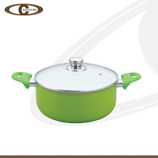 Ceramic Dutch Oven with Silicone Handle