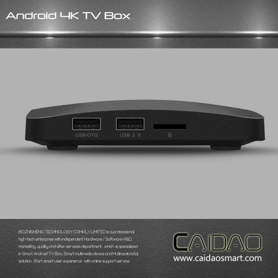 New Model Amlogic S905X 2GB 8GB TV Box Android 7.0 Nougat Set Top Box pictures & photos