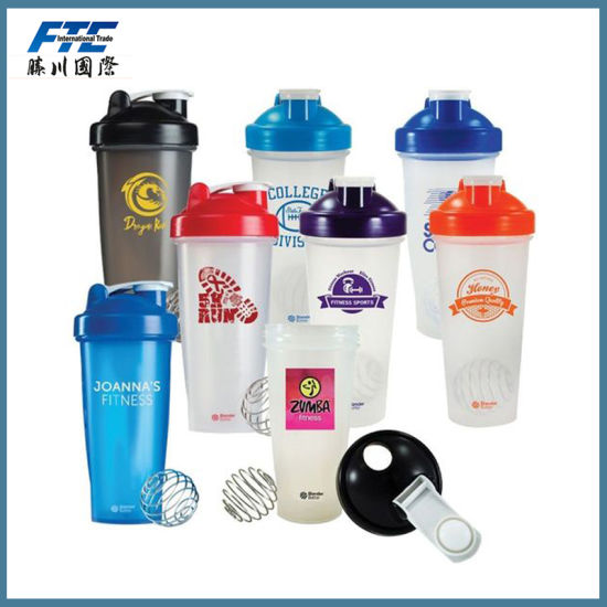 Good Protein Shaker Bottle with Strainer pictures & photos